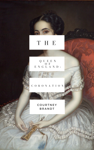 The Queen of England_ Coronation, mock up cover