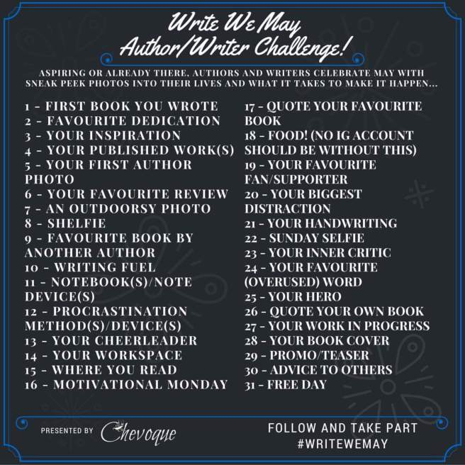 author 30 day challenge