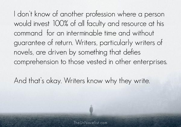 why writers write